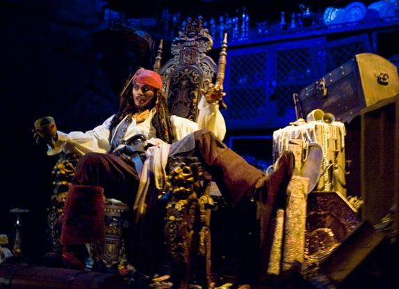 Image result for disneyland pirates of the caribbean ride