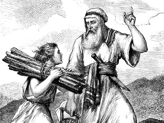 abraham and isaac # 2