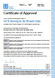 ISO Certification (Brazil)