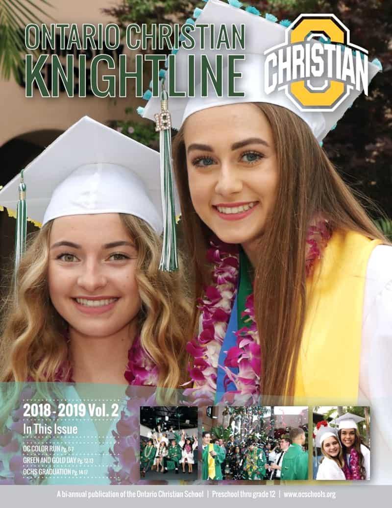Knightline Magazine 2018-2019 Vol 2 Cover