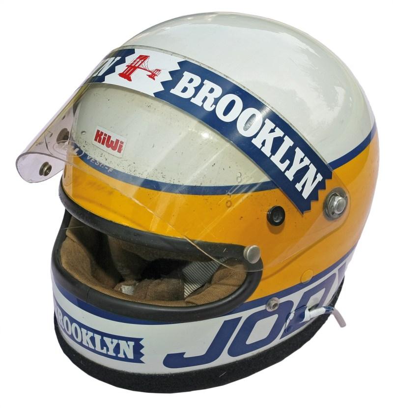 Helm von Jody Scheckter