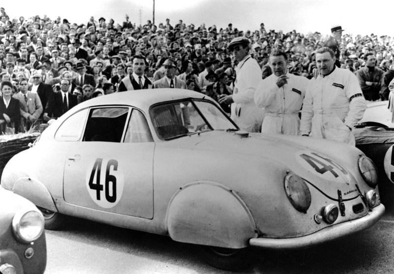 Le Mans, 1951, Klassensieg Porsche 356 SL
