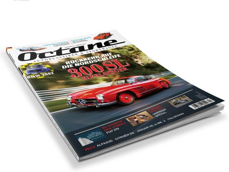 Octane, #20, Fiat 76S, 300SL, Lancia Stratos, Uhrwerk Spezial, Italdesign Brivido, Porsche 917, LeMans, Citroen DS