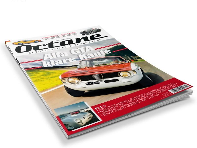 #22, Octane, Alfa Romeo GTA, Porsche 356, Lamborghini Miura, Renault 40CV, Lancia Sibilo, Rolls Royce EX25, Aston Martin Lagonda