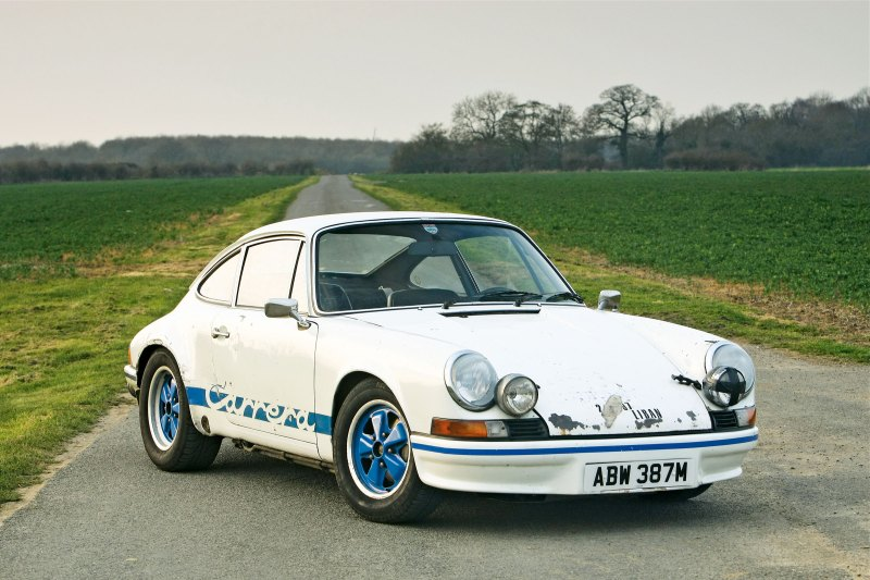 #21, Porsche 911 RS 2.7, Beirut, Patina, gerettet