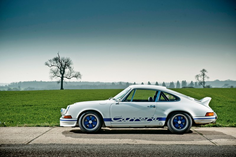 #21, Porsche 911 RS 2.7 RS, restauriert, perfekt, Showroom