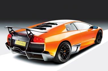 Lamborghini Murciélago im Profil