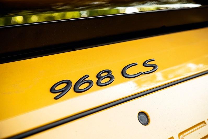 #39, Porsche 356 Carrera, 911 2.7RS, 968CS, Carrera GT, Vergleich