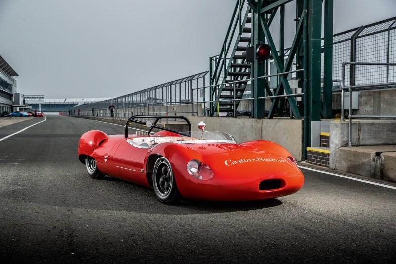 #45, Costin-Nathan, Prototyp, Holz-Chassis, Hillman Imp, Roger Nathan, Frank Costin