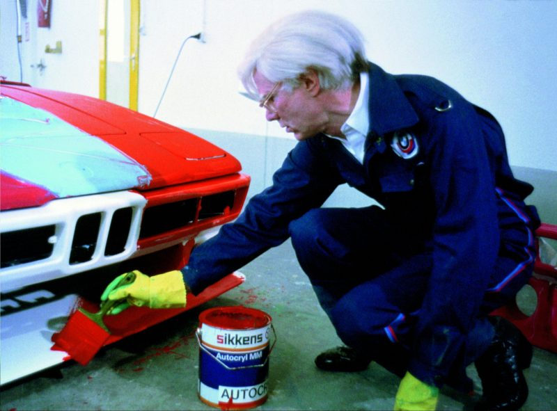 #43, BMW, Art Car, Andy Warhol, Procar