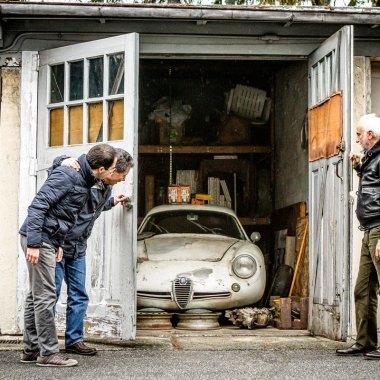 #25, Alfa Romeo, Giulietta SZ, Zagato, Prototyp