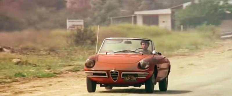 "Alfa Romeo Duetto ""Die Reifeprüfung"" ""Dustin Hofman"" Cabrio Italien"
