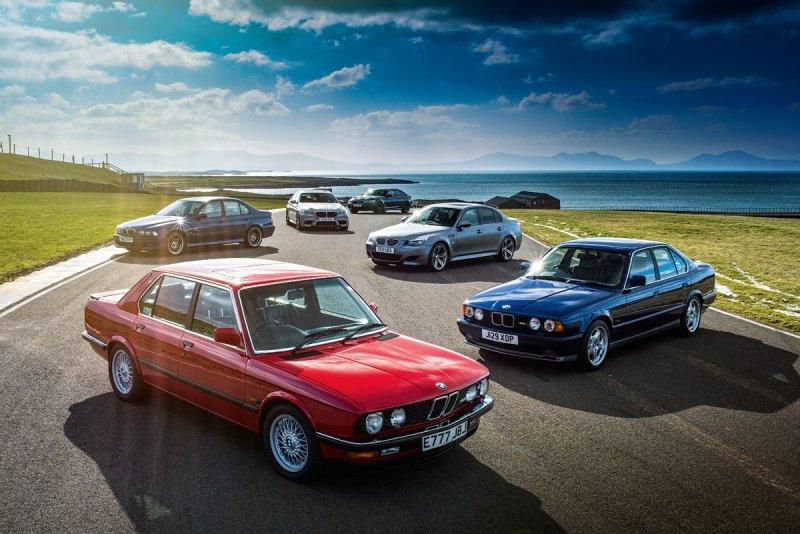 #40, BMW, M5, E28, E34, E39, E60, F10, F90, Sportlimousine