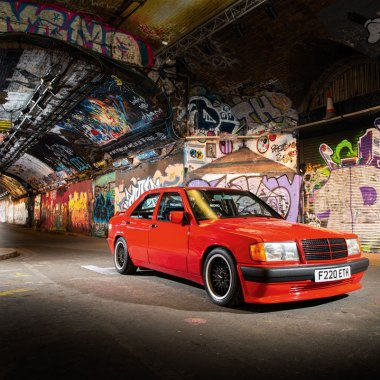 #40, Brabus, Mercedes 190E 3.6S