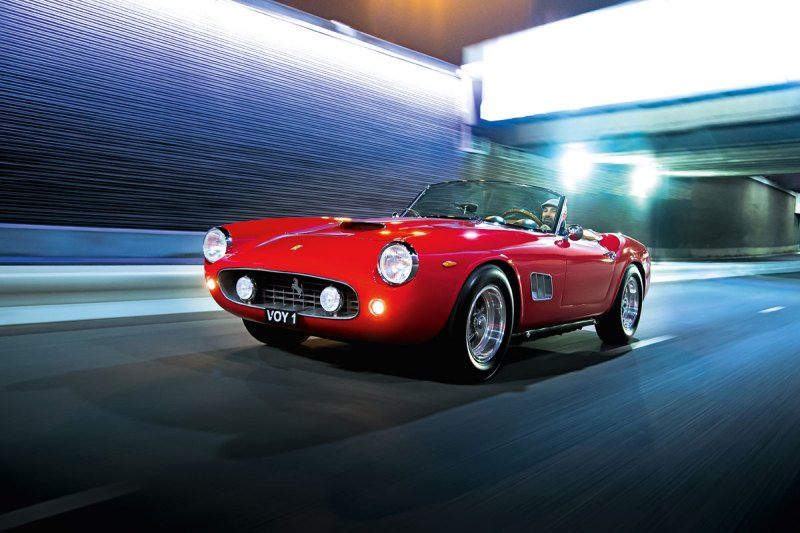 #30, Ferrari 250, California Spyder, V12,