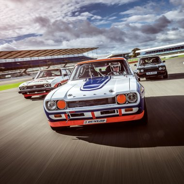 #21, Ford, Capri, Willie Green, Silverstone