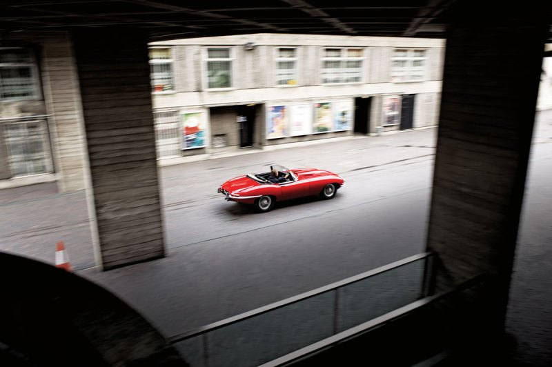 #23, Jaguar, E-Type, London
