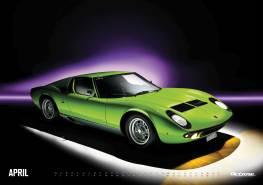 Lamborghini Miura - OCTANE Klassiker Kalender 2019 – April