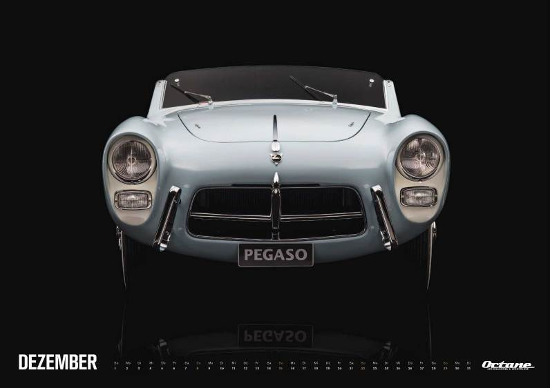 Pegaso - OCTANE Klassiker Kalender 2019 – Dezember