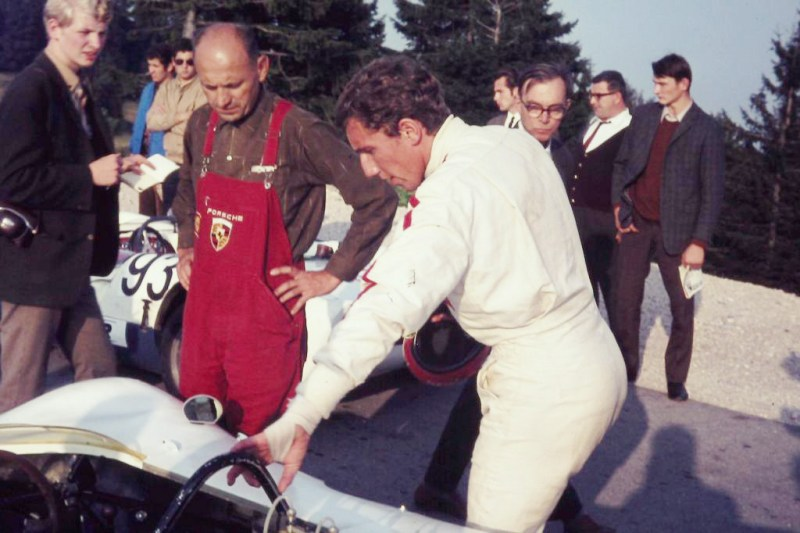 #41, Porsche, 909 Bergspyder, Gaisberg