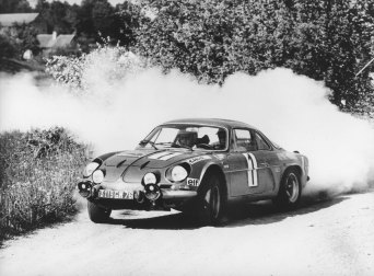 Renault Alpine, A110, Jean Redele, Retro