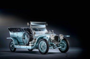 #27, Rolls-Royce, 40/50 HP Silver Ghost, 1909, Roy-de-Belge