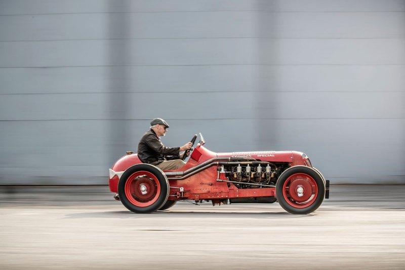 #40, Skinner Special, SU Carburetter Co., Peter Skinner, Bergrennwagen
