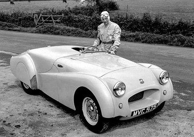 Triumph, TR2, Weltrekord, Ken Richardson