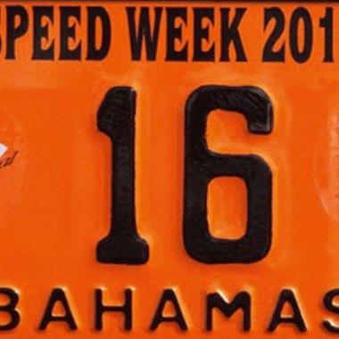 Schild zum Nassau Speedweek Revival