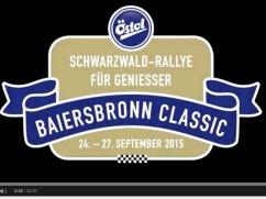 Teilnehmende Fahrzeuge der Baiersbronn Classic