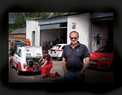 Tony Castle-Miller of Middle Barton Garage