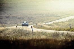 Aston Martin DB4 GT unterwegs im Peak District