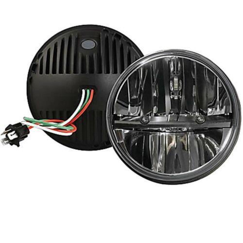 octane 7 round dual led headlights pair hummer fits jeep wrangler cj tj jk