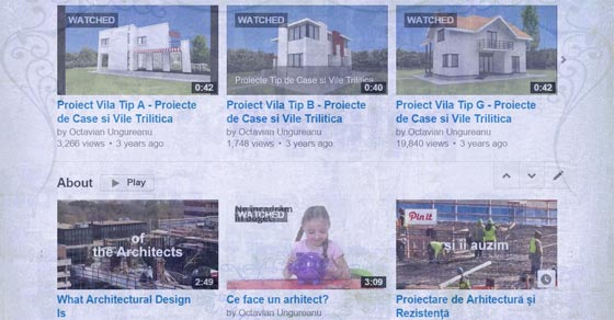 Homes projects on my video channel