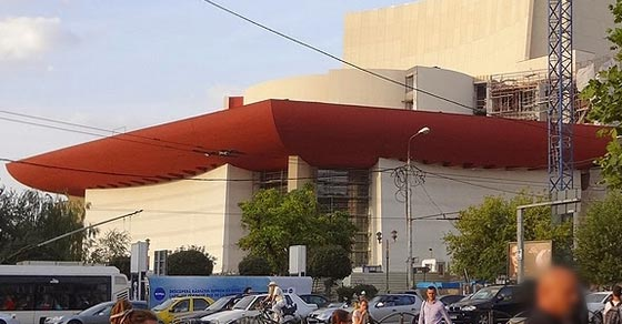 Built It Again! National Theatre in Bucharest Romania
