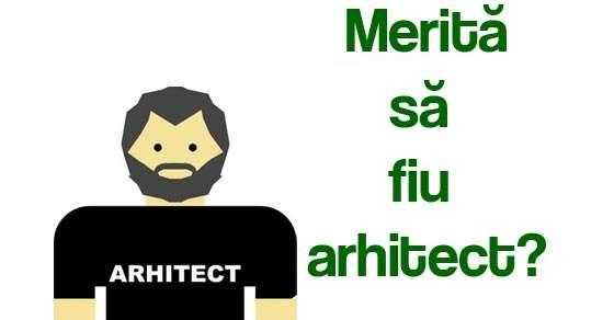 Școala de arhitectură / Merită să fiu arhitect?