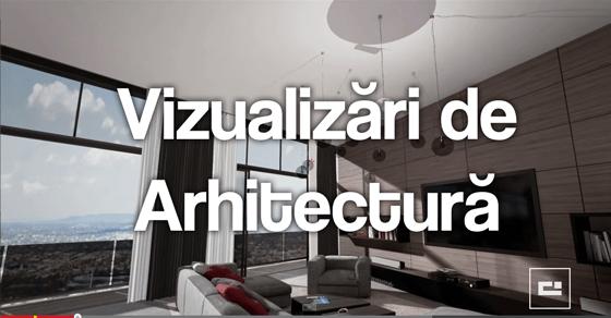 Vizualizări de arhitectură în timp real