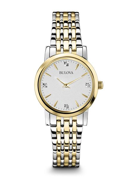 98P115 Women's Classic Diamond Watch Bulova