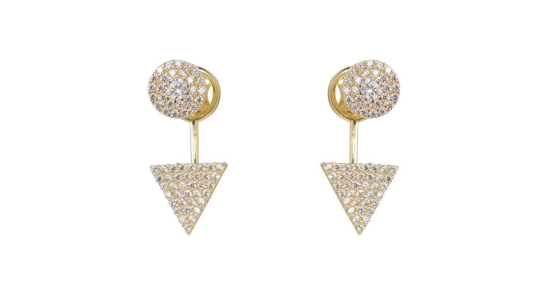 Boucles d'oreilles CBE EY-A20-359 chez Octeau Joaillier et Horloger