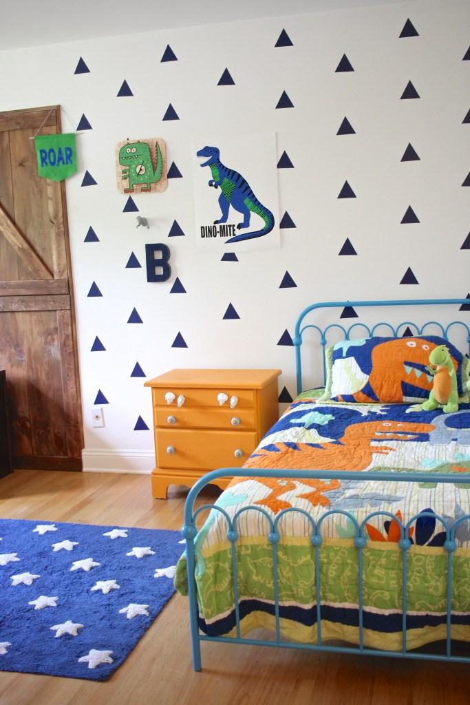 October Acres - Big Boy Dinosaur Bedroom - October Acres