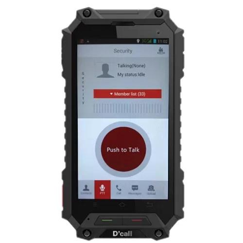 D'Call VT88F Smart IP Portable Walkie Talkie