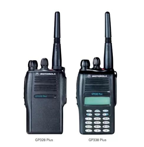 Motorola Walkie Talkie GP328 Plus / GP338 Plus