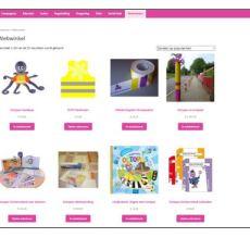 Nieuwe webwinkel online