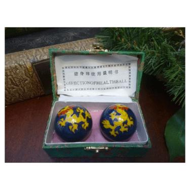 chinese boading balls dragon phoenix
