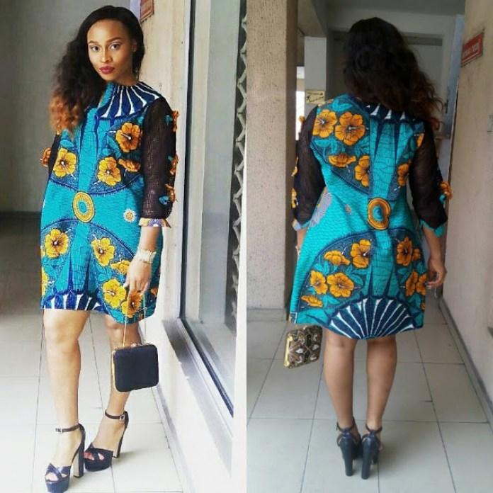 Inspirational Hot Ankara Shirt dresses you should see »