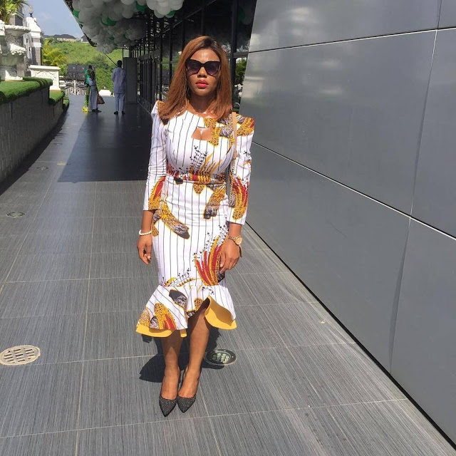 checkout these creative, unique and modern ankara dress styles - Ankarastyles2018 Od9jastyles281929 - Checkout These Creative, Unique and Modern Ankara Dress Styles