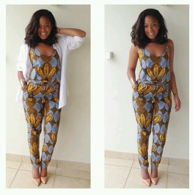 checkout these creative, unique and modern ankara dress styles - Ankarastyles2018 Od9jastyles282529 - Checkout These Creative, Unique and Modern Ankara Dress Styles