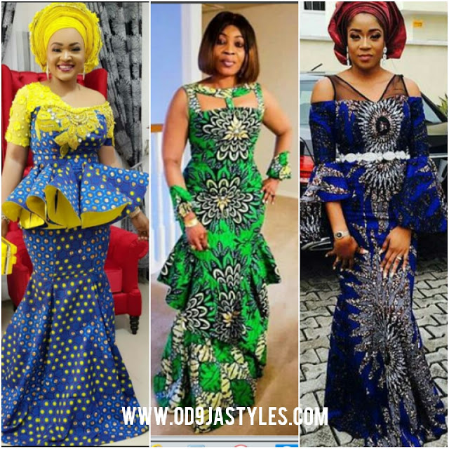 e63a6872b8c 30 Most Recent African Ankara styles For Beautiful Ladies ...