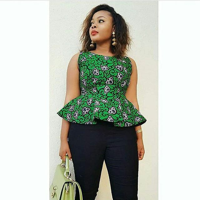 79dde128e Ladies See These Awesome Ankara Tops 2018 for Cute Ladies