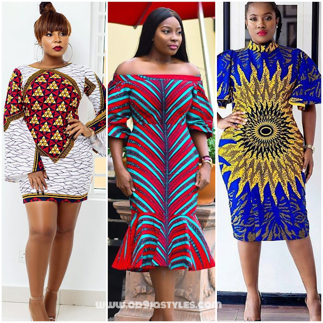 New Ankara Styles Siks Nd Tops: New Fashion Styles : Latest Ankara Gown Styles 2018 You
